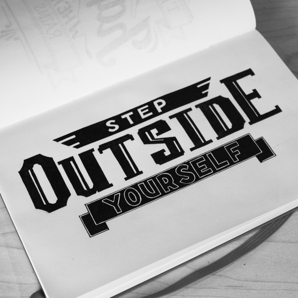 Step outside yourself